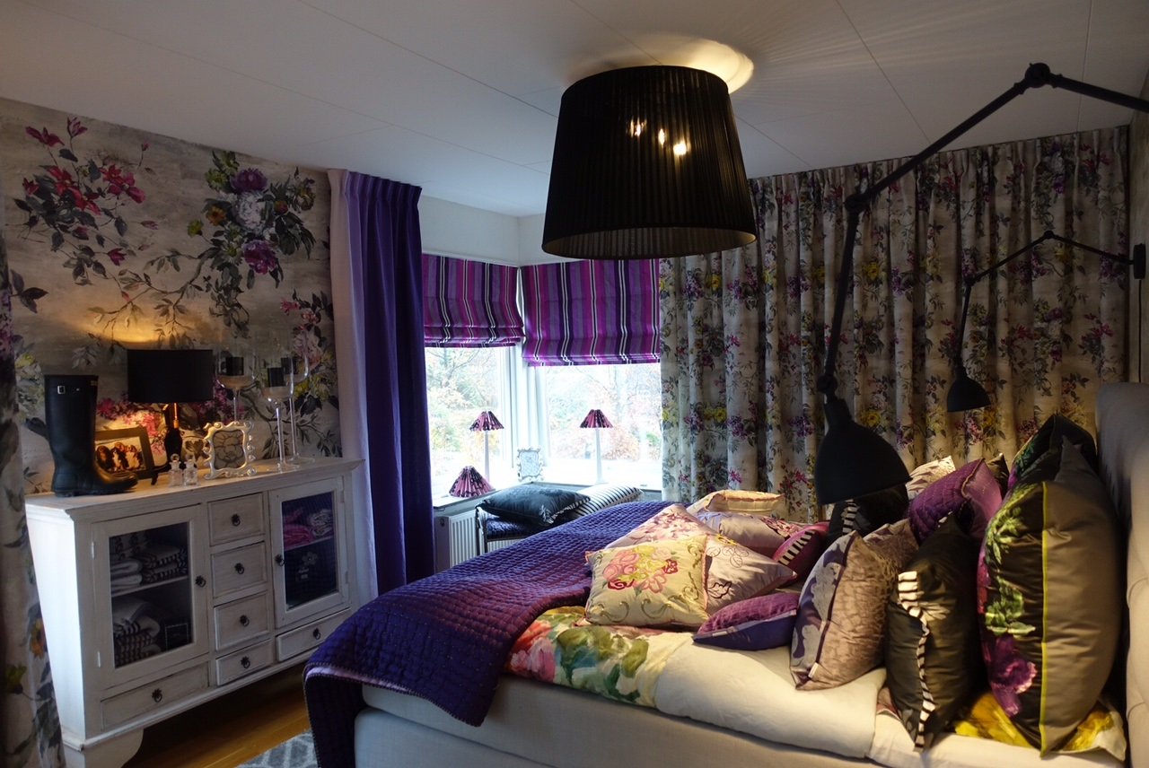 Hemma hos repotage – sovrum – pretty home blog
