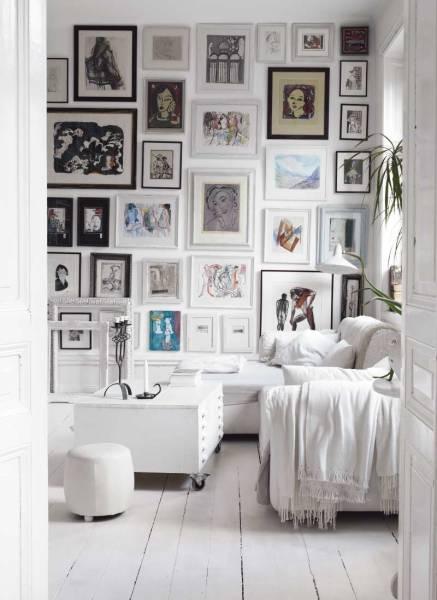Arrangera med speglar och tavlor! – pretty home blog