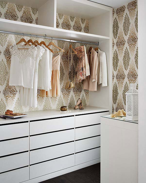 Walk in closet pretty home blog