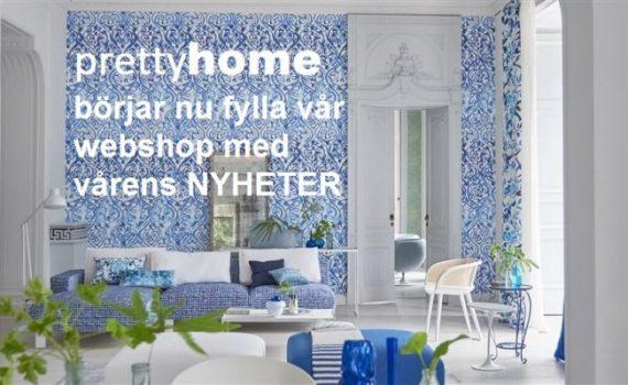 Fyllt vår webshop med nyheter! pretty home blog