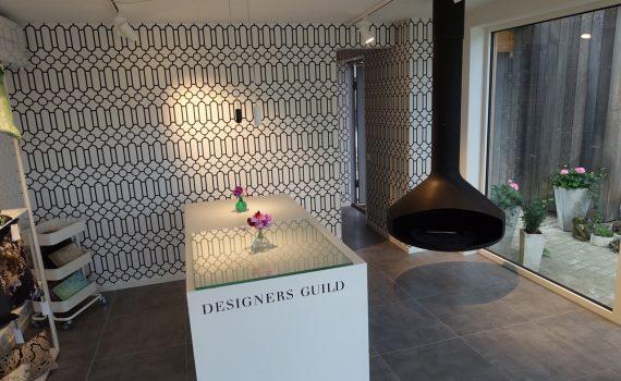 Vårt showroom med Designers Guild