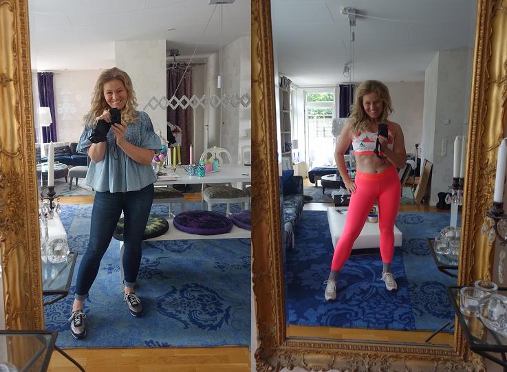 Före och efter bild