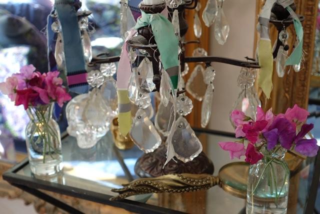 Luktärtor i små vaser