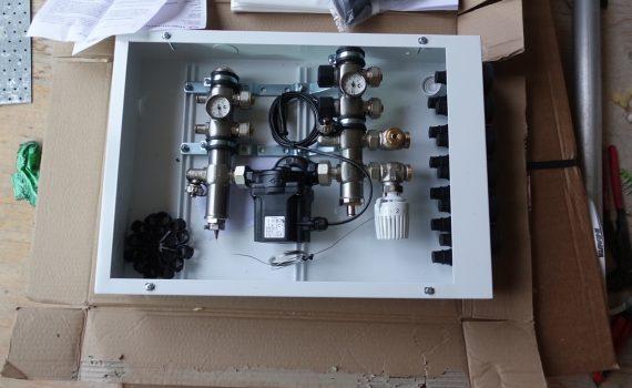 Vattenburet värmesystem
