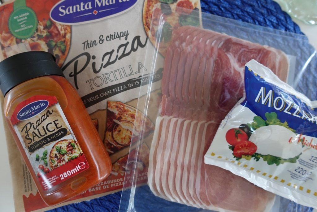 Godaste Pizzorna med Santa Maria Pizza Tortilla