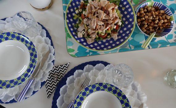 Kycklingsallad till lunch