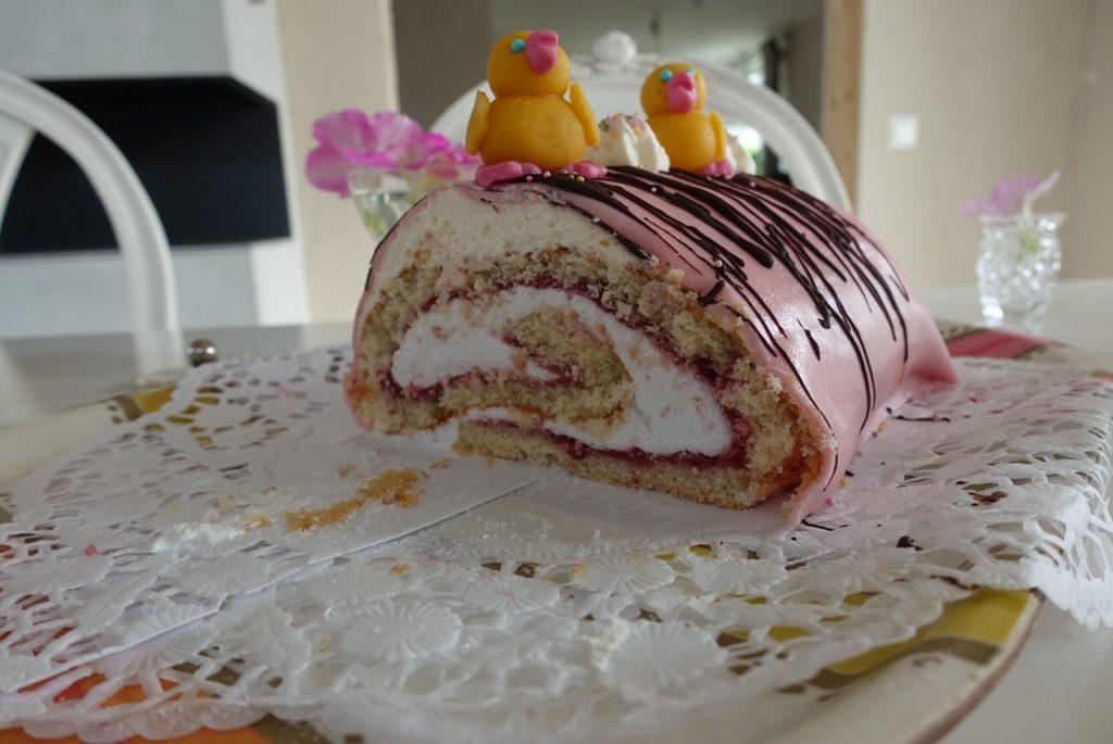 Så här ser tårtan ut inuti