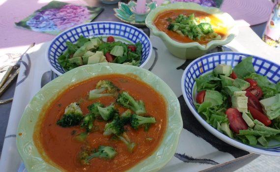 Enkel och nyttig lunch med keldasoppa