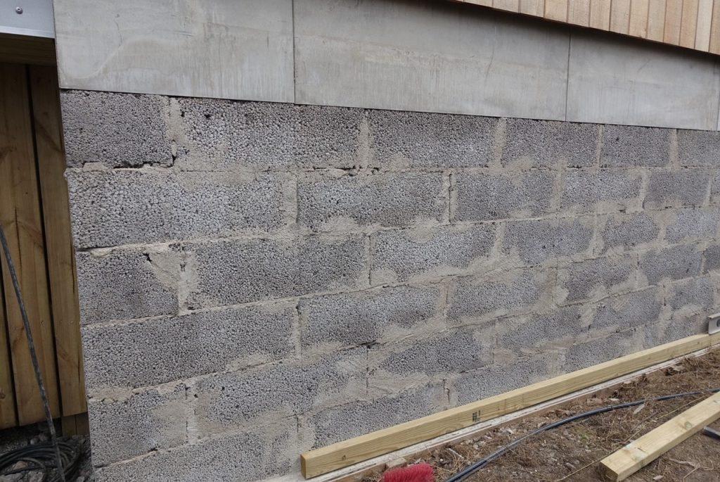 Närbild på muren