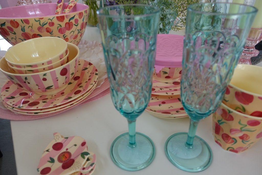 Champagneglas i akryl