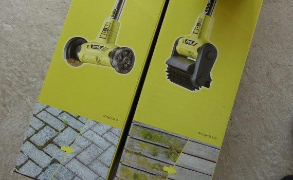 Nya verktyg för rengörning av terrass och stenbeläggning