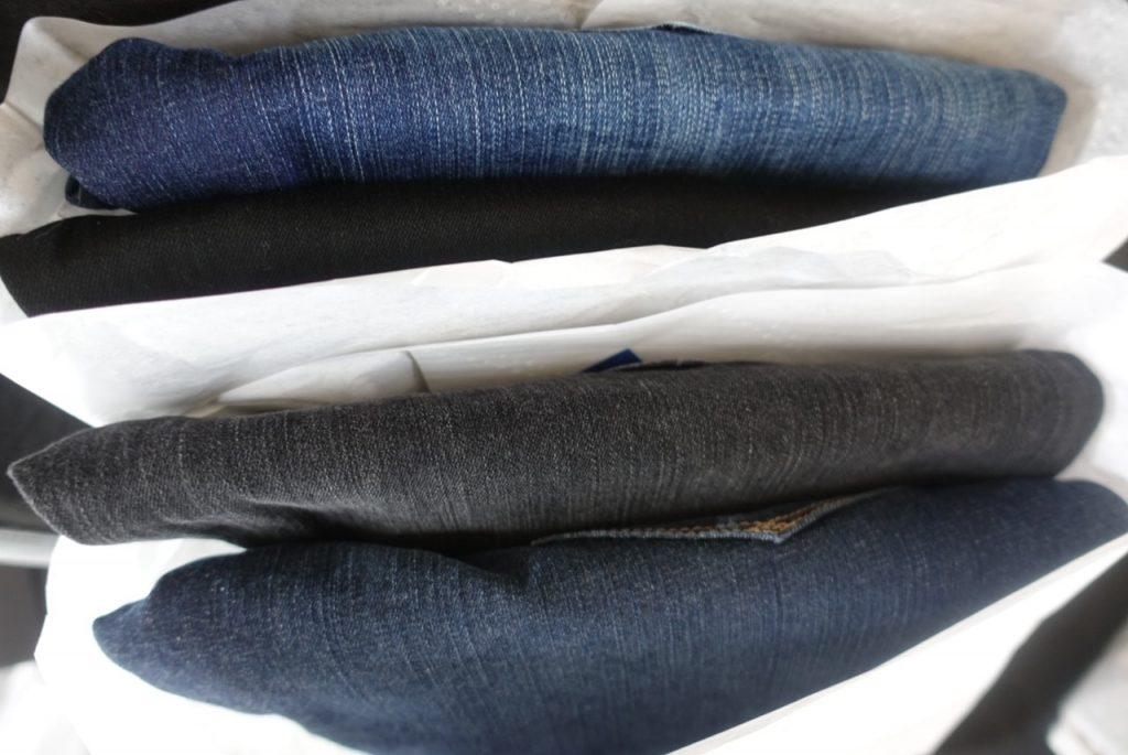 Fyra par jeans