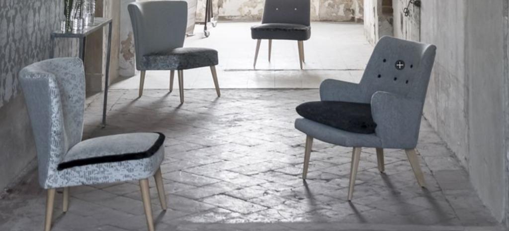 Ny matta och möbler beställt till vårt showroom