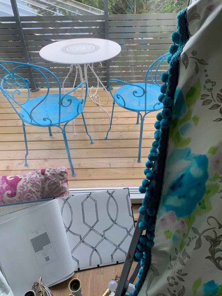 Tapet och gardiner från Designers Guild