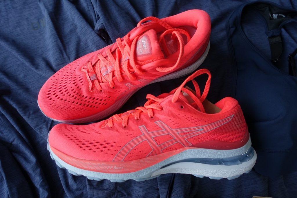 Nya löparskor till mig för träning