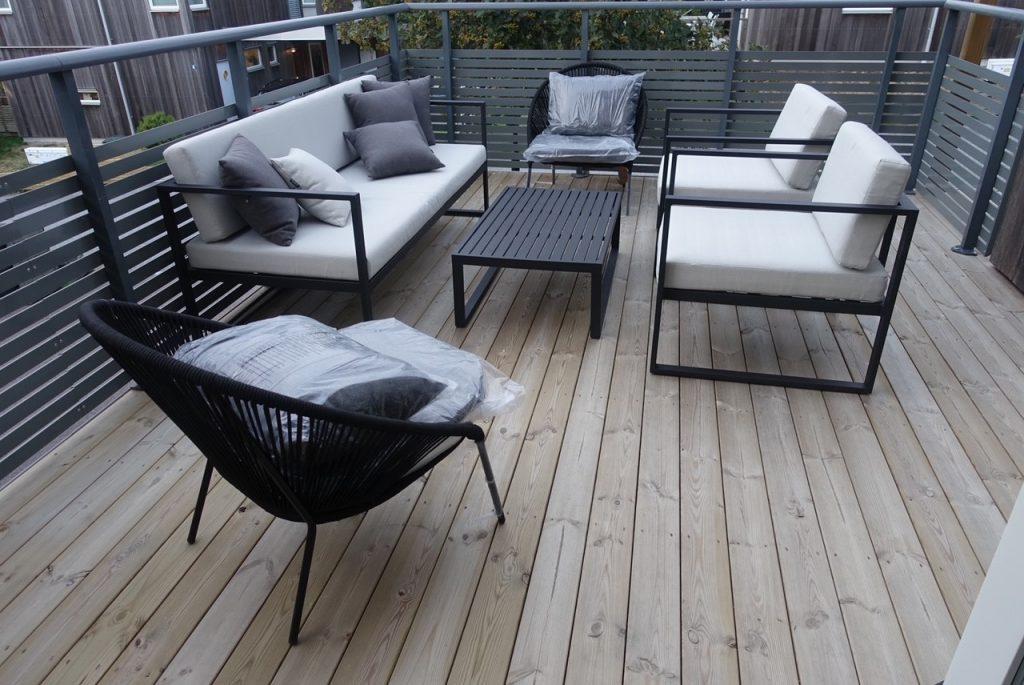 Nya möbler till vår terrass