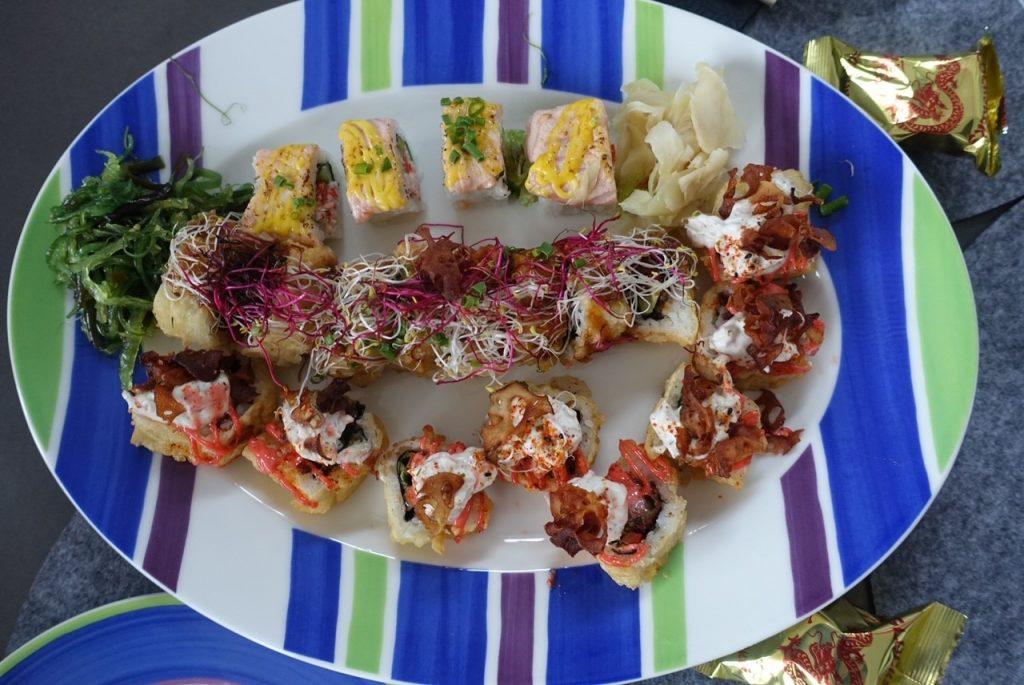 Sushi på fredag